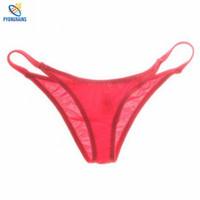 bikini männer verkauf groihandel-Bikini Herren Low-Waist Slips Nylon Atmungsaktiv Sexy Homosexuell Männer Unterwäsche U Convex Design Brave Men Hot Sale Fashion Unterhose