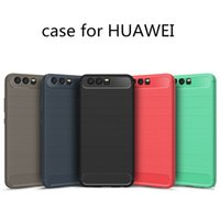 Wholesale Shell Carbon - HUAWEI P10 mobile phone shell and HUAWEI P10 protection cover carbon fiber drawing proof shell