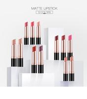 Wholesale make lipstick waterproof online - O TWO O Colors Waterproof Lipstick Kiss Proof Lipstick Matte Rouge Cosmetics Make Up lip