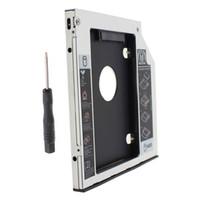 ingrosso ata ssd-9.5mm Universale Serial ATA 2a HDD SSD hard disk caddy bay Per Lenovo IdeaPad Z500 Z500t Z510 Z510t series laptop