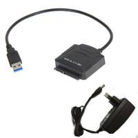 usb hdd 1tb toptan satış-USB 3.0 Sata AB Güç Adaptörü Için 3.5 inç HDD 2.5 inç SSD sabit disk ile 12 V 2A AC DC güç adaptörü desteği 1 tb 2 TB 4 TB HDD