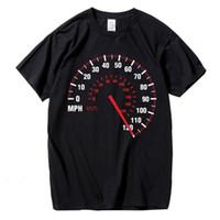 auto-marken-t-shirts großhandel-Mode T-shirt Männer Baumwolle Sommer Auto Geschwindigkeit T-Shirt Schwarz Kreative Design Tops Tees Fitness Kleidung Marke
