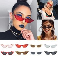 Wholesale Small Gift Cards Wholesale - wholesale High Quality Vintage Sunglasses Women Cat Eye Luxury Brand Designer Sun Glasses Retro Small Red ladies Sunglass Driver Gifts