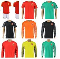 Wholesale team jerseys china - 2017 China Soccer Team Jersey Home away Shirts Short Sleeve Uniforms Football Sets Long Sleeve goalkeeper kit size S-XL