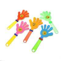 Wholesale hand clappers - Newest 1Pcs Hand clapper Concert party cheering props children clap clap your hands small hands Festival supplies Random color