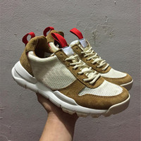 Wholesale vintage shoe men - Tom Sachs x Craft Mars Yard 2.0 TS NASA Running Shoes for men AA2261-100 Natural Sport Red Shoe Zapatillas Vintage With Shoes Box