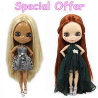 Wholesale Nude Toys - Special Offer Factory Fashion Nude Blyth Doll, Joint& Normal Body on sale DIY toys Free shipping