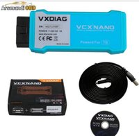 Wholesale opel tis - New Car Styling Professional WiFi Version VXDIAG VCX NANO for TOYOTA TIS Techstream V12.00.127 Compatible with SAE J2534 Free Ship