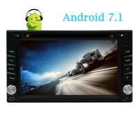 estereofonia de duplo carro universal venda por atacado-Android 7.1 Car Stereo no traço Car DVD Player Octa Núcleo EinCar GPS Car Radio Duplo din Multi Touchscreen Headunit Navegação GPS