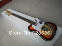 çok elektro gitarlar toptan satış-Toptan Satış - Tremolo ile Özel Mağazalar Very Beauty F Telecaster Sunburst Elektro Gitar