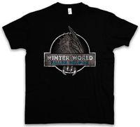blue world games achat en gros de-T-SHIRT DU MONDE D'HIVER Game of Dragon Nightking Thrones