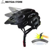 Wholesale Mtb Helmets - Cairbull New OFF-ROAD Cycling Helmet Casco Ciclismo PC+EPS Bicycle Bike Adjustable Visor Mountain Helmet Safety MTB Casque Vtt