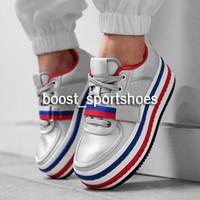 zapatillas gruesas al por mayor-Womens Vandal 2k zapatos de fondo grueso wmns diseñador de moda rosa azul multi negro zapatillas de oro zapatillas de deporte zapatos 36-40
