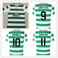 Wholesale fc soccer jersey - Celtic18 19 FC Home Soccer Jersey McGregor 2018 2019 Celtic Griffiths dembele Sinclair Rogic Roberts Forrest Jerseys
