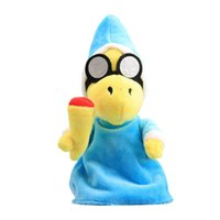 Wholesale video games for kids online - Hot Sale cm cm Super Mario Bros Magikoopa Kamek Plush Stuffed Doll Toy For Kids Best Holiday Gifts