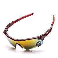 gafas de sol amarillas uv al por mayor-Gafas de protección contra rayos ultravioleta azul / amarillo / multi / gris anteojos Gafas de protección contra rayos UV Gafas de sol gafas de protección UV para ciclismo