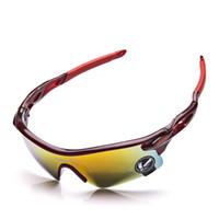 gelbe uv-sonnenbrille großhandel-UV-Schutzbrille blau / gelb / multi / grau Specs Anti-UV-Fahrradbrille Sonnenbrille UV-Schutzbrille für den Radsport