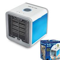 dispositivo de ventilador al por mayor-USB Artic Air Cooler Fan Personal Space Cooler Portable Escritorio Ventilador Mini Aire Acondicionado Dispositivo Cool Viento Calmante Para Oficina en casa