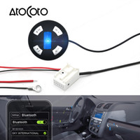 Wholesale vw car audio resale online - Bluetooth Car Kit Pin Plug Module AUX Receiver Adapter for VW RCD CD Radio Wireless TF Card Audio Input Hand Free
