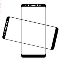 vaso a8 al por mayor-9H cubierta completa de cristal templado Protector de pantalla de seda impresa para Samsung Galaxy J3 2018 J7 2018 A6 A6 MÁS A8 A8 MÁS 100 unids / lote