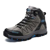 chaussures d'escalade extérieures respirantes achat en gros de-Randonnée En Plein Air Chaussures Pour Hommes Anti-dérapant Respirant Sports Trekking Chasse Excursion Escalade Chaussures De Montagne