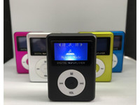 Wholesale mp3 player screen gray online - screen card MP3 round button with a screen out of MP3 Players