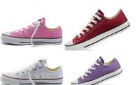Wholesale flooring pricing - Fast shipping size 35-46 Factory price promotional price! 2017 femininas canvas shoes women and men,high Low Style Classic Canvas Shoes Snea