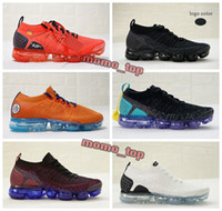 Wholesale Black Evolution - 2018 Vapormax 2.0 Flying Knit Dragonball Evolution Walking Shoes Athletic Dragon Ball Son Goku 2019 Mens Trainers Sneakers Casual Shoes