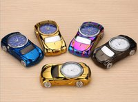 Wholesale rechargeable usb watch lighter for sale - Group buy Electric Lighter windproof USB Cigarette lighters rechargeable metal watch sports car novetly lighter color Christmas Gift Hot SALE