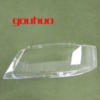 audi scheinwerfer geführt großhandel-Für Audi A6 C5 99-02 scheinwerfer lampenabdeckung objektiv glas lampenabdeckung scheinwerfer transparent lampenschirm 2 STÜCKE