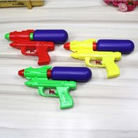 пистолетный пистолет оптовых-Горячие Продажи Водяной Пистолет Пластиковые Двойное Отверстие Сопла Pull Водяной Пистолет Soaker Squirt Blaster Shooter Пистолет Long Rang Игрушки Водяной Пистолет Игрушки