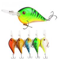 Wholesale long tongue lures for sale - Group buy Crankbait Fishing Lures cm g Long Tongue Hard Bait Artificial Crank Hard Bait With High Quality Treble Hook