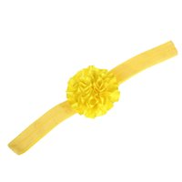 Wholesale cute feet sandals resale online - 2017 new Cute Foot Flower Barefoot Sandals Headband Baby Set Solid Color Baby Elastic Hair Bands Infant Kids Headbands