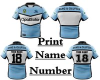 Wholesale north south - 2018 NRL JERSEYS ( printing number and name) 2018 CRONULLA SHARK rugby sizes S-3XL SOUTH SYDNEY RABBITOHS 2018 NORTH QUEENSLAND COWBOYS