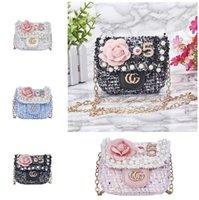 projeto bonito bolsa venda por atacado-Crianças Designer de Bolsas 2019 Moda Meninas Mini Princesa Bolsas Bonito Cadeia de Design de Applique Cross-body Bags Presentes de Natal Das Crianças