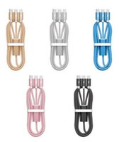 Wholesale 3 in Cable M Braided USB Charging Cable High Quality For type c Samsung s7 s8 plus HTC Sony LG For iphone x xs xs max