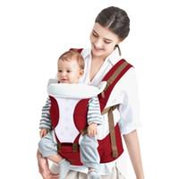 portabebés al por mayor-Bethbear Cómodo Portabebés Transpirable Multifuncional Mochila para Bebé Soplo de Cadera Cintura Taburete Bolsa de Bebé Canguro