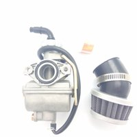 filtro de ar do carburador venda por atacado-Filtro de ar do carburador para ATV 20 mm ingestão PZ20 TaoTao NST SunL Kazuma Baja 50cc ~ 125cc