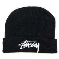 Wholesale shop wholesale spring - Men Women Fashion Hip Hop Beanies Embroidered Letter Acrylic Hat Outdoor Shopping Casual Wool Hats Hot Sale 5 8xr ff