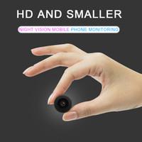 ücretsiz wifi aracı toptan satış-V1 HD 4 K Mini Kamera Gece Sürümü 1080 P Araba DVR WiFi Kablosuz Video Kaydedici Geniş Len Mini DV Ev Güvenlik Kamera Ücretsiz Kargo