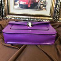 Wholesale alligator heads - 2018 Luxury famous tide Brand designer snake head Classic Handbags Shoulder Bag Bags Purse girl lady women wallet 180401001AWJ