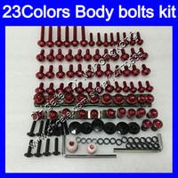 kit de corpo inteiro kawasaki zx9r venda por atacado-Carenagem parafusos kit parafuso completo para a Kawasaki ZX9R 98 99 ZX9R ZX 9 R 98-99 ZX 9R ZX9R 1998 1999 99 Porcas parafusos de porca de corpo 25Colors kit parafuso