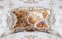Wholesale Figure Wallpaper - wallpaper for walls 3 d for living room Three-dimensional relief European mythology scene Mythological figures zenith frescoes