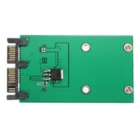 ssd sata 1,8 toptan satış-Toptan Satış - Yüksek Kalite Sabit Disk Sürücüsü Adaptörü Mini PCIe PCI-e mSATA 3x5cm SSD 1.8 İnç Mikro SATA Adaptörü Dönüştürücü Kartı