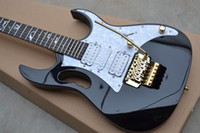 Free shipping top quality New IBZ JEM 7V black Electric Guitar In stock
