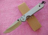маленькое складное лезвие оптовых-Крис Рив Маленький нож Sebenza 21 Frame 440C сталь Атласная Точка падения Обычный складной нож Тактический нож с коробкой