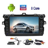 Wholesale car dvd android toyota resale online - Eincar Universal Double Din In Dash Car DVD CD Player Android Nougat Octa Core G RAM G ROM Car Stereo