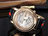 Wholesale men simple style watch - New Leather Simple Style Men Watch Top Brand Luxury Women Business Genuine Leather Steel Quartz Clock Military Wristwatch