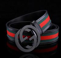 Wholesale pu ceinture online - 2018 hot sale Mens Belts Luxury cow Leather Designer strap male belts for men Girdle Wide Men s Belt Waistband ceinture cinto masculino