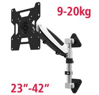 """Wholesale motion max - DL-GTS111W Gas Spring 23""""-42"""" heavy LED LCD TV Wall Mount Full Motion Monitor Holder Arm Load 9-20kg Max. VESA 200*200mm"""